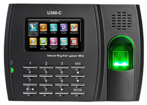 Smart Touch - U300 - Fingerprint Time Clock Advance - Payroll