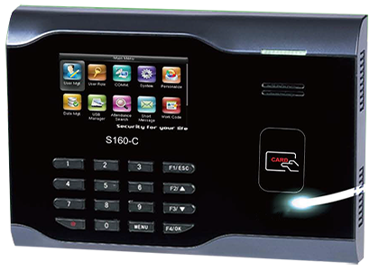 Smart Touch -S160-C - RFID Time Clock - Time And Attendance